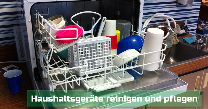geschirrsp ler und waschmaschinen richtig reinigen. Black Bedroom Furniture Sets. Home Design Ideas