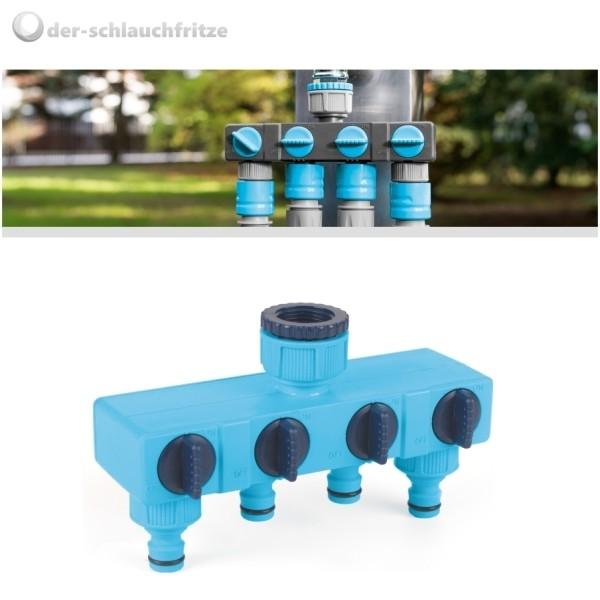 4-Wege Wasserverteiler