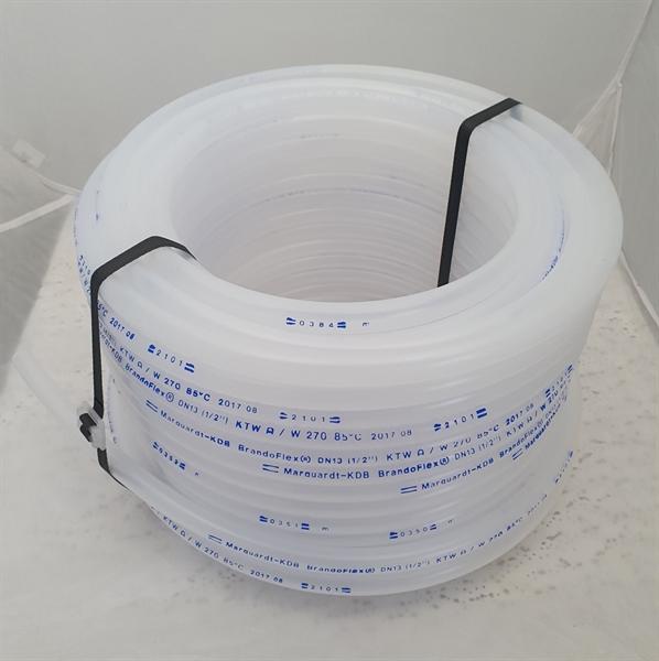 Trinkwasserschlauch in transparent für die mobile Trinkwasser- oder Getränkeversorgung