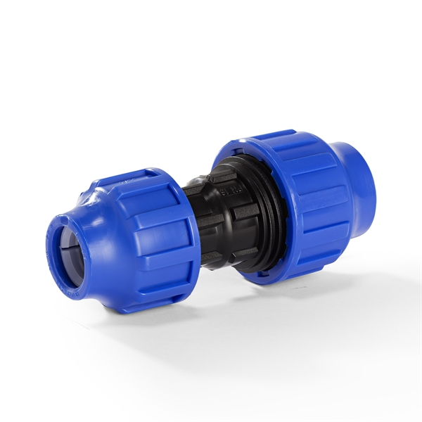 Kupplung reduziert für PE-Rohr | Jetzt kaufen bei der-schlauchfritze.de